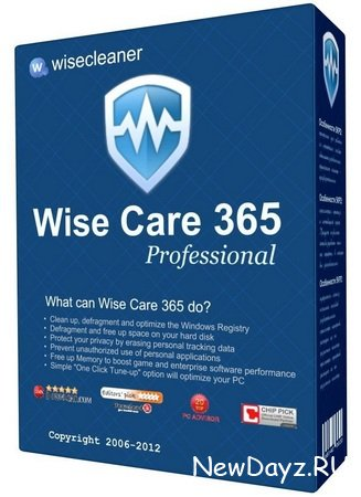 Wise Care 365 Pro 3.75 Build 335 Final + Portable